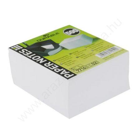 Jegyzettömb 9x9cm 500db/cs (7716-02) fehér