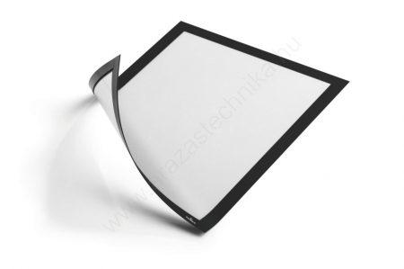 Duraframe® MAGNETIC A4 - fekete mágneses infokeret fémre ( 4869-01)