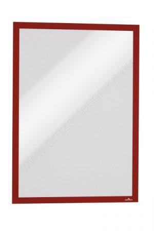Duraframe® MAGNETIC A3 - piros mágneses keret fémre (4868-03)