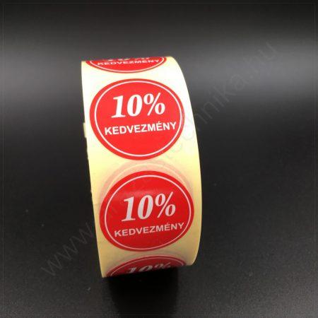 30 mm körcímke -10% kedvezmény