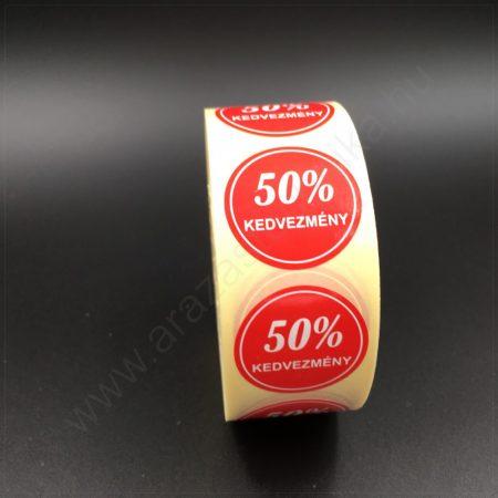 30 mm körcímke -50% kedvezmény