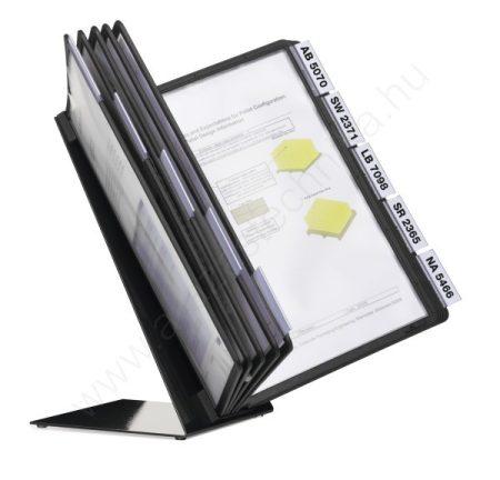Vario® Table 10 db A4  ASZTALI  lapozó (5570-01) fekete