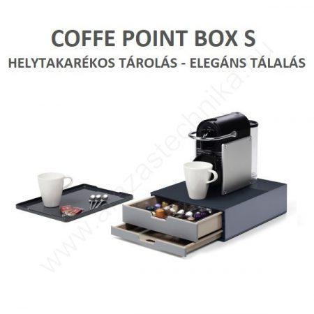COFFEE POINT BOX S (3383-58) kávé kapszula tároló
