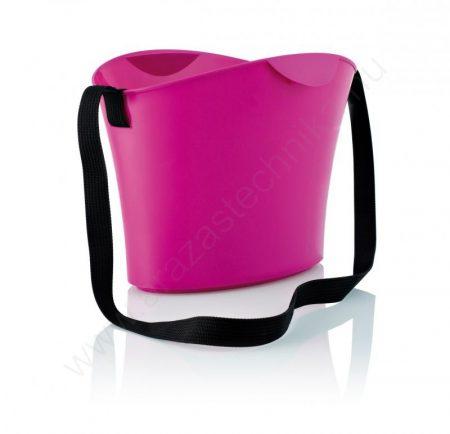 Bevásárló kosár - SHOPHIE 15L - pink - egyfüles