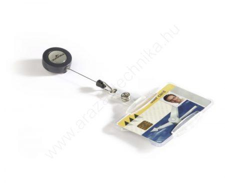 Biztonsági kártyatartó - NYITOTT (8011) kihúzható tartóval