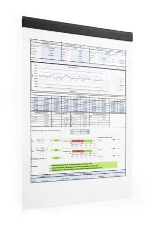 DURAFIX® RAIL 210mm - FEKETE - öntapadó mágnes KLIP (4706-01) (5db/csomag)