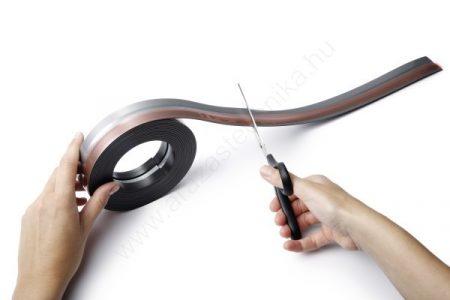 DURAFIX® ROLL 5 méter - FEKETE öntapadó mágnes KLIP (4708-01)