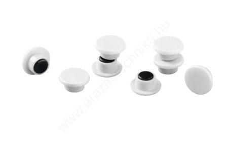 Jelölő mágnes taktikai táblához (20db/cs) (475102) FEHÉR