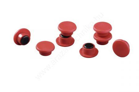 Jelölő mágnes taktikai táblához (20db/cs) (4751-03) PIROS