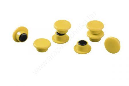 Jelölő mágnes taktikai táblához (20db/cs) (47510-4) SÁRGA