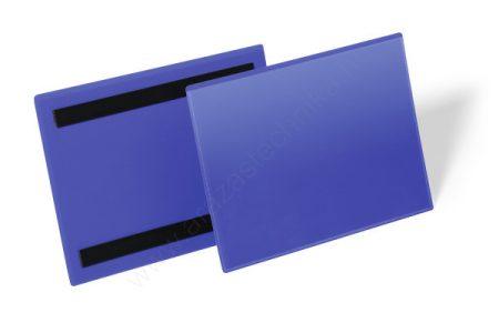 Mágneses logisztikai zseb A5 fekvő (1743-07) kék