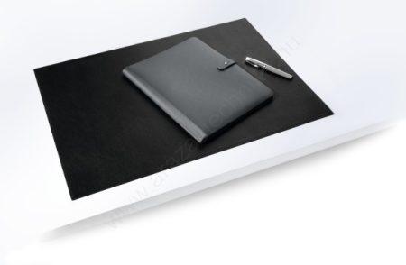 Asztali könyöklő - BŐR - LEATHER DESK MAT (7305-01) fekete