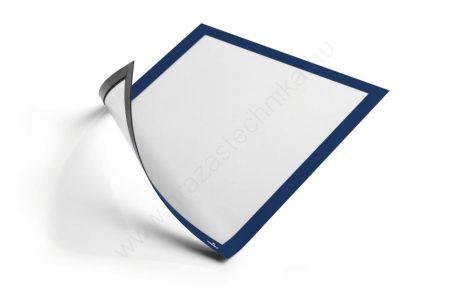 Duraframe® MAGNETIC A4 - kék mágneses infokeret fémre ( 4869-07)
