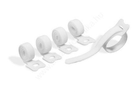 CAVOLINE® GRIP TIE - tépőzáras kábelrendező 20×1cm  (5036-02) fehér