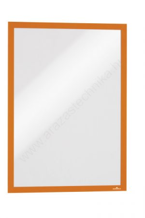 Duraframe® A3 - narancs infokeret (4883-09) öntapadó hátlap
