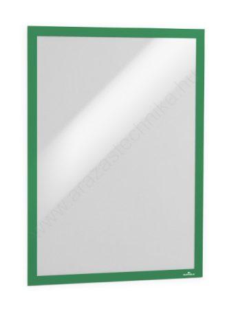 Duraframe® A3 - zöld infokeret (4883-05) öntapadó hátlap
