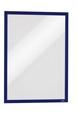 Duraframe® A3 - kék infokeret (4883-07) öntapadó hátlap