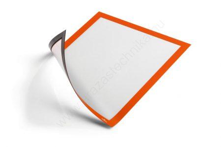 Duraframe® MAGNETIC A4 -narancs mágneses infokeret fémre ( 4869-09)