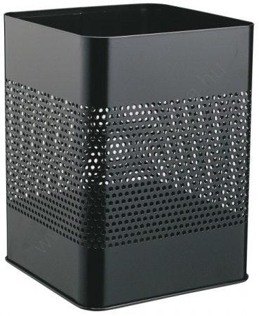 Papírkosár - 18,5 L - négyzet P165mm (3321-01) - fekete