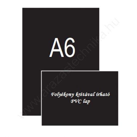Krétatábla A6 [105×148mm] krétamarkerrel írható